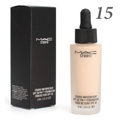 Тональная основа MAC Studio Waterweight 30 spf 30ml №15