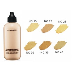 Тональная основа MAC Face and Body Foundation Fond de Teint Visage et Corps 120ml №NC15