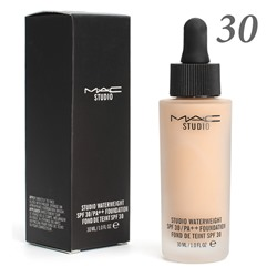 Тональная основа MAC Studio Waterweight 30 spf 30ml №30