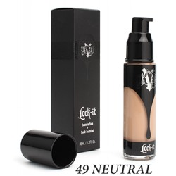 Тональная основа KAT VON D Lock-It Foundation 35ml №49 Neutral
