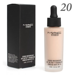 Тональная основа MAC Studio Waterweight 30 spf 30ml №20