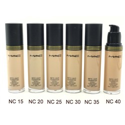 Тональный крем MAC Matte Liquid Foundation Rougea Levres Liquide Au Fini Mat 35 ml №15
