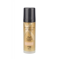 Тональный крем Max Factor Ageless Elixir 2 в 1 Foundation+Serum 30ml №60 sand