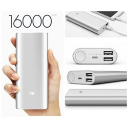 Power Bank XIAOMI, 16000 mAh Серебро
