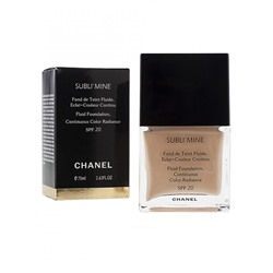 Тональный крем Chanel Sublimine Fond de teint fluide 75 ml №101
