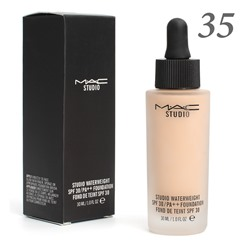 Тональная основа MAC Studio Waterweight 30 spf 30ml №35