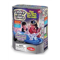 Светящийся конструктор LIGHT UP LINKS, 158 деталей
