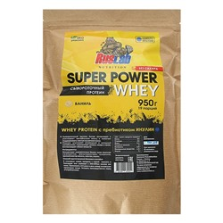 Протеин Super Power Whey, ваниль, 950 г