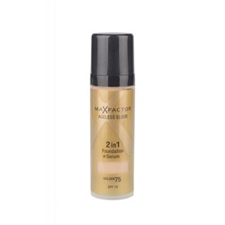Тональный крем Max Factor Ageless Elixir 2 в 1 Foundation+Serum 30ml №75 golden