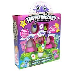 Набор Хетчималс (Hatchimals) 3 яйца и 2 фигурки